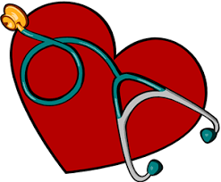 heart with stthoscope